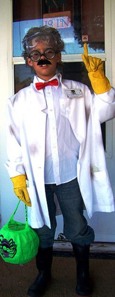 Mad scientist costume. #diy