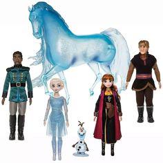Frozen 2 Deluxe Doll Set Disney limited edition figures Elsa Anna Olaf Nokk NEW Frozen Toys, Frozen 2, Disney Frozen Elsa, Disney Princess, Frozen Movie, Anna Y Elsa, Elsa Olaf, Anna Kristoff, Bb Reborn