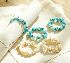 PB Napkin rings....Make your own....