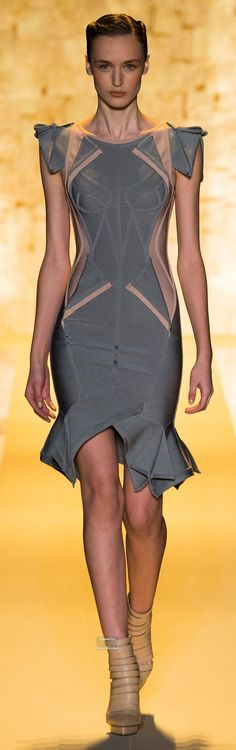 Hervé Léger by Max Azria Collections Fall Winter 2015-16 collection