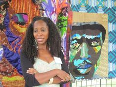 Bisa Butler- Art Quilter from: Welcome to Bisa Butler's Art World Check out her blog to find out more about her!