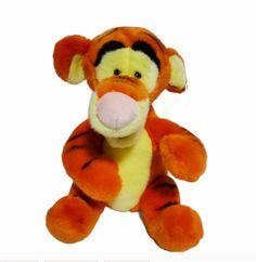 "Walt Disney World Pooh Tigger Plush Stuffed Animal Orange Toy 12"" #Disney"