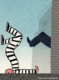 When prisoners are released, then what? - Prisoners are often released with no supervision and no help finding a job | The Economist