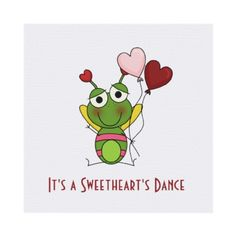 Sweetheart's Dance Party Invitation