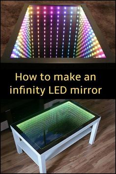 Kids and the kids at heart who love science fiction are sure to love this infinity mirror!