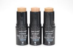 wet n wild Photo Focus Stick Foundation. Slay all day and play all night in this long-lasting, multi-tasking cover stick; available in 21 shades that are flattering to a wide range of skin tones. Wet And Wild Foundation, Foundation For Oily Skin, Foundation Tips, Makeup Foundation, Drugstore Eyeshadow, Drugstore Makeup Dupes, Beauty Dupes, Beauty Makeup, Starbucks Recipes