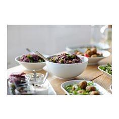 ikea ikea 365 bowl made of feldspar porcelain which makes the