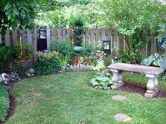 Love this Corner of the Yard