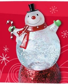 Hallmark 2011 Lighted Snowman Snow Globe - Light and Motion - #LPR2326 Hallmark http://www.amazon.com/dp/B006A8L2MG/ref=cm_sw_r_pi_dp_nGEzwb0GJKYWT