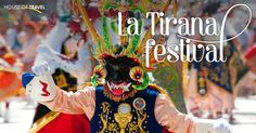 Each year in July, the little town of Iquique in Northern #Chile begins week long celebrations in honour of Virgen del Carmen (Virgin Mary). A vibrant  colourful festival, #LaTirana attracts around 250,000 visitors to a town with a population usually of around 560!