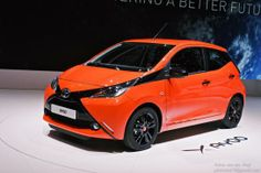 Toyota AYGO 2014 IN oranje look
