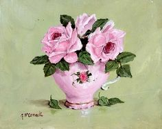 A cup of tea, rose and tenderness of Gail McCormack. Discussion on LiveInternet - Russian Service Online diary