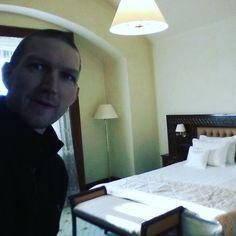 My bedroom in the Citadel Inn in Lviv Ukraine. #bedroom #hotels #relaxingtime #relaxing #lviv #lvov #ukraine #backpackers #backpacking  #tourist #travel #citadelinn by jonnydontstopliving