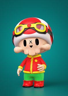 Kids Cartoon Shows, Neo Pop, 3d Artist, Character Design, Skull, Behance, Concept, Drawings, Fictional Characters