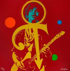 Ivan Messac, Prince : The Love Symbol - Original hand signed silkscreen - 85 copies, 2012 French Dj, Prince Images, My Generation, Keith Richards, Love Symbols, Beautiful One, Jimi Hendrix, The Selection, Art Gallery
