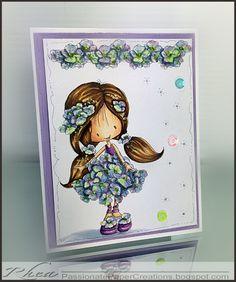 Tiddly Inks - Flower Wryn