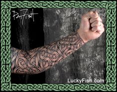 Celtic tattoo portfolio — luckyfish, inc. and tattoo santa barbara Celtic Band Tattoo, Celtic Sleeve Tattoos, Celtic Cross Tattoos, Norse Tattoo, Viking Tattoos, Celtic Art, Tattoo Fixes, Body Armor Tattoo, Crest Tattoo
