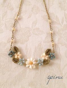 Spinu's crochet,necklace