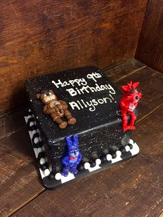 Five Nights At Freddy's Birthday Cake