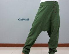 SING Harem pants 010 gray by Ommme on Etsy