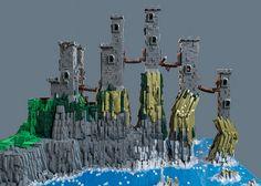 ~ Lego MOCs Fantasy ~ Pyke Castle | by anupehr