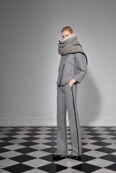 Bouchra Jarrar - Fall 2013 Ready-to-Wear