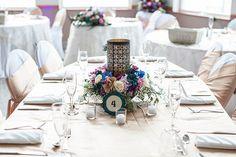 Peacock themed wedding at Shining Waters Marine, NS