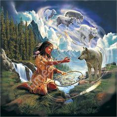 Ловец снов, картина раскраска по номерам, своими руками, размер 40*50см, цена 750 руб.