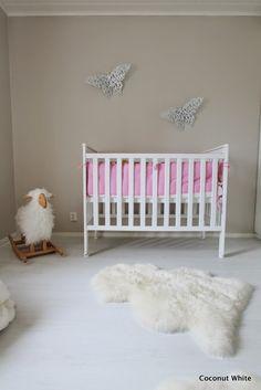 Coconut White - Little Girls Greige Room