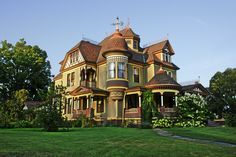 Victorian House, Victorian, Painted Lady, Oldhouse