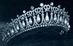 From Her Majesty's Jewel Vault: The Cambridge Lover's Knot Tiara