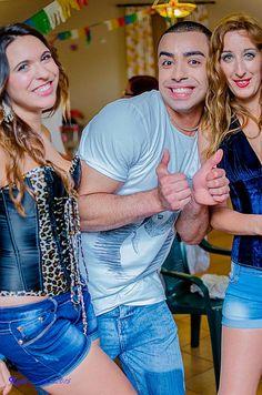 Modelos: Tania, Rafael y Eva  Fotografía: Kiko Nuñez