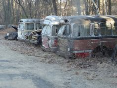 Old Buses - Rich's - Hudson Ma