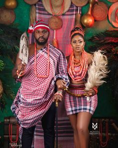 You've Got to See Adewale & Kani's Double Traditional Wedding in Calabar Nigerian Wedding Dresses Traditional, Traditional Wedding Attire, Traditional Outfits, African Fashion Ankara, Latest African Fashion Dresses, Igbo Bride, African Fashion Traditional, Igbo Wedding, Marriage Dress