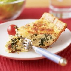 Bacon and Spinach Quiche Recipe | Spoonful