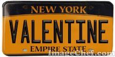 New York License Plate New