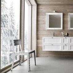 Compab, mobili componibili per il bagno. A Roma da Realprogetti sas. Double Vanity, Bathroom, Rome, Washroom, Full Bath, Bath, Bathrooms, Double Sink Vanity