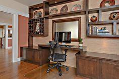 RoomReveal - Modern Zen Home Office by Kim Smart