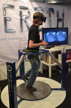 Cyberith - Virtualizer - Omnidirectional Treadmill