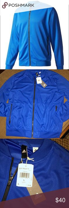 33a71cac07ec NWT MENS ADIDAS JACKET Brand new with tags, full zip Adidas men s size  large jacket