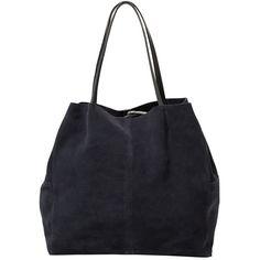 Shopper Bag ($63) ❤ liked on Polyvore featuring bags, handbags, tote bags, black handbags, mango purse, shopper purses, black purse and black shopping bags
