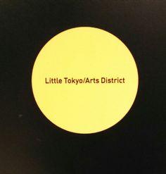 Little Tokyo / Arts District Metro Station #poster_detail #graphics #LittleTokyoArtsDistrict #Little_Tokyo_Arts_District #transit #lightrail #MetroGoldLine #GoldLine #Metro #Los_Angeles #LosAngeles #LA