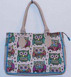 Turquoise Owl - Lua Handbags