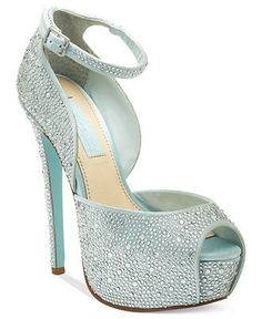 Blue By Betsey Johnson U0027Bellsu0027 Sandal Available At #Nordstrom | Bride And  Bridesmaid Dresses | Pinterest | Something Blue, Wedding And Leu0027veon Bell Design Inspirations