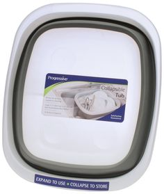Amazon.com: Prepworks from Progressive International CDT-1 Collapsible Dish Tub: Collapsible Dish Drainer: Kitchen & Dining