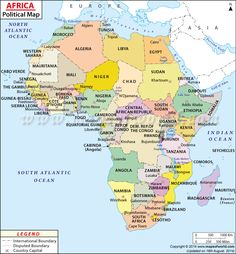 map of africa countries maps of the world pinterest africa social studies and homeschool. Black Bedroom Furniture Sets. Home Design Ideas