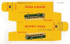 DINKY TOYS 29D : AUTOBUS SOMUA PANHARD boite repro / reprobox | eBay
