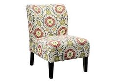 Honnally - Floral - Accent Chair by Signature Design by Ashley. Get your Honnally - Floral - Accent Chair at JB's Furniture, Milwaukee WI furniture store. Floral Accent Chair, Small Accent Chairs, Floral Chair, Living Room Chairs, Living Room Furniture, Home Furniture, Dining Room, Dining Chairs, Furniture Chairs