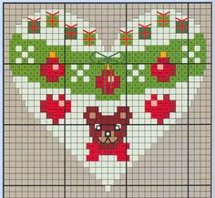 Points de croix *♥* Cross stitch Heart 4
