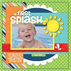 First Splash of Summer - 1 Horizontal Photo